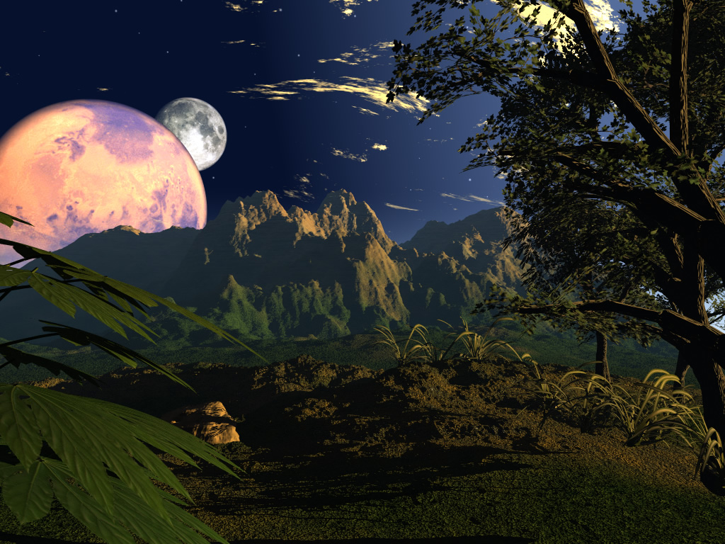 3d wallpaper colorful planets - photo #34