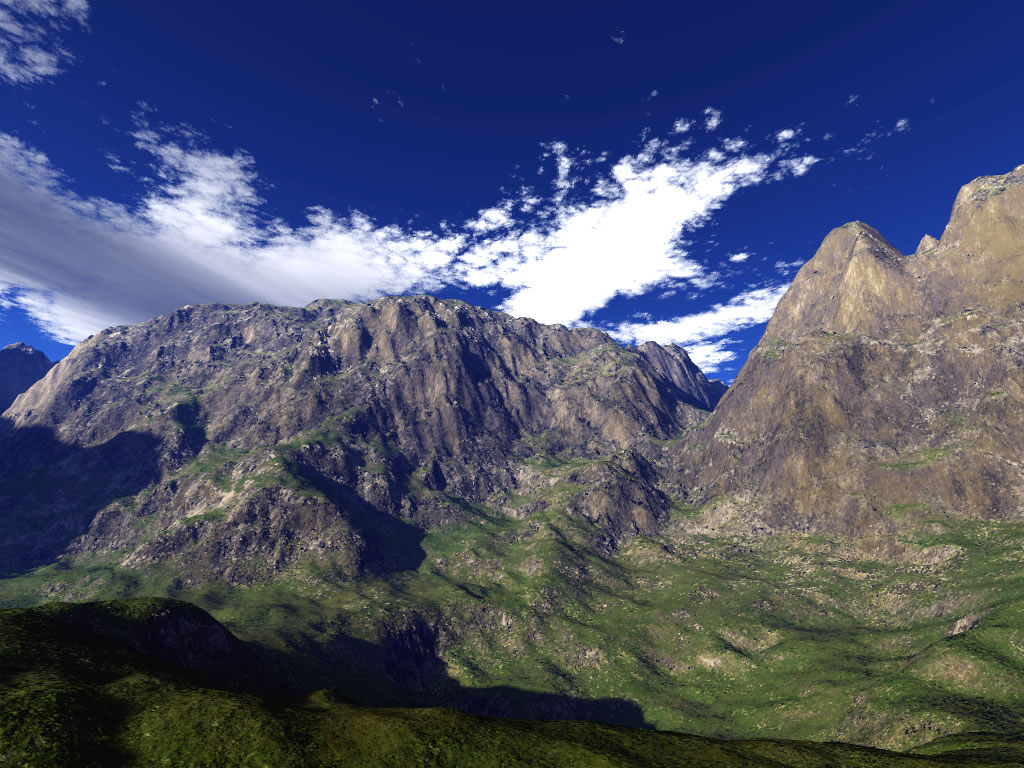3d mountain wallpaper - photo #5