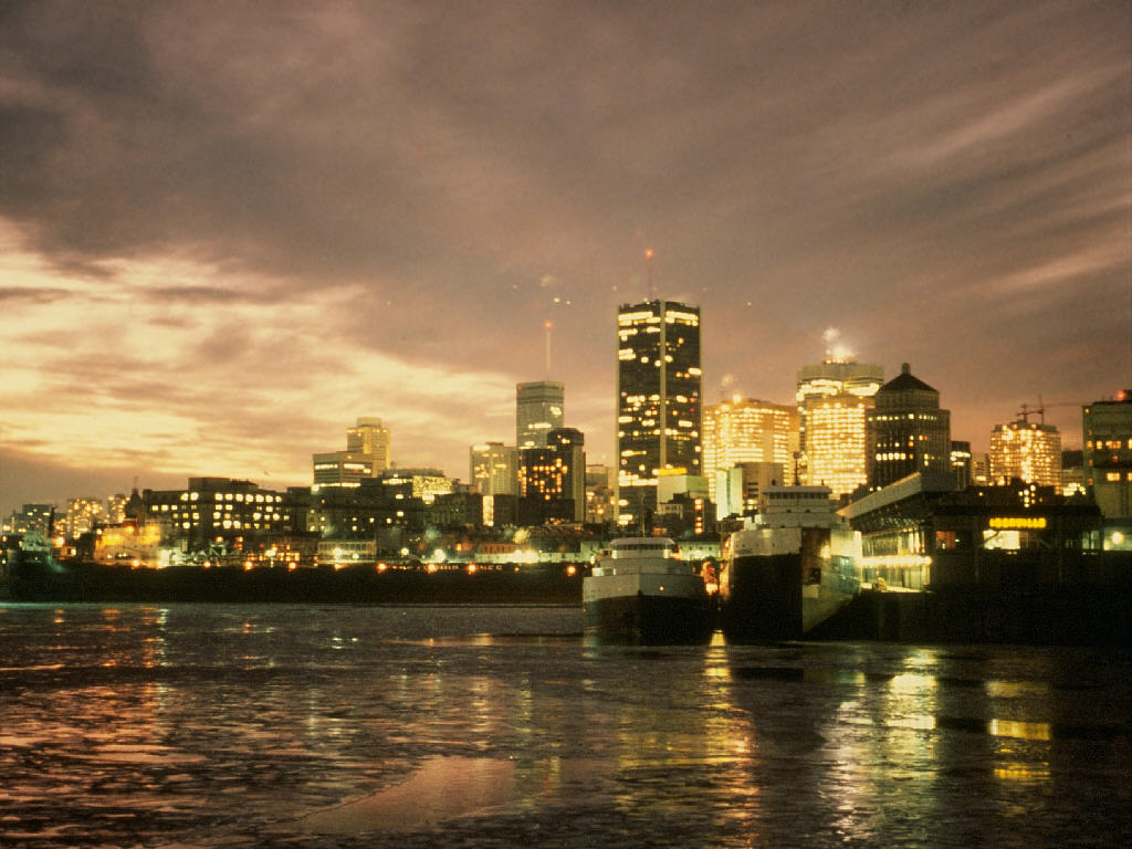 Downtown Montreal Wallpaper